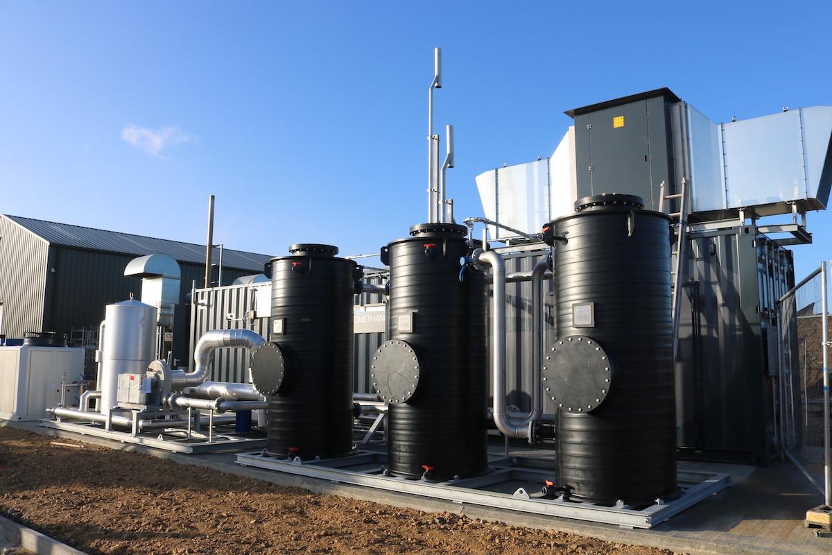 biomethane contractors utilities