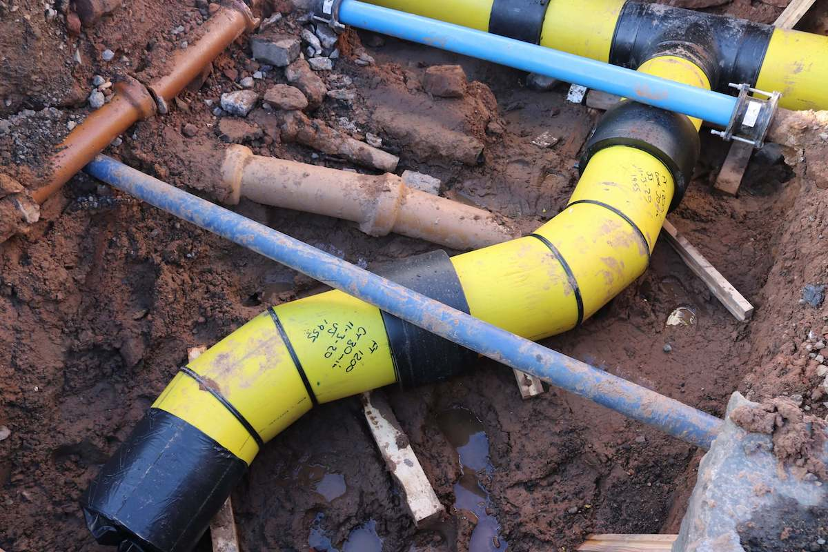 gas pipe installation contractors uk