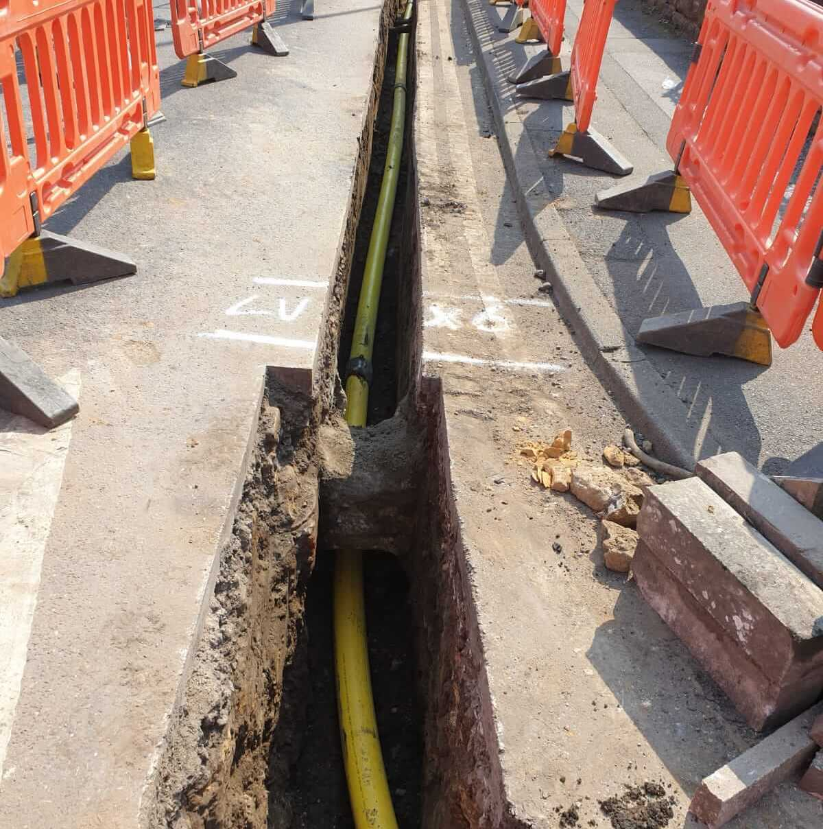 gas pipe fitting Yorkshire